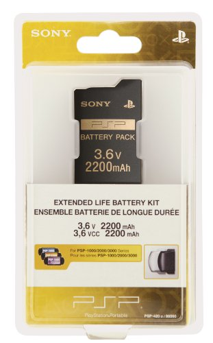 Low priced PSP Extended Life Battery Kit