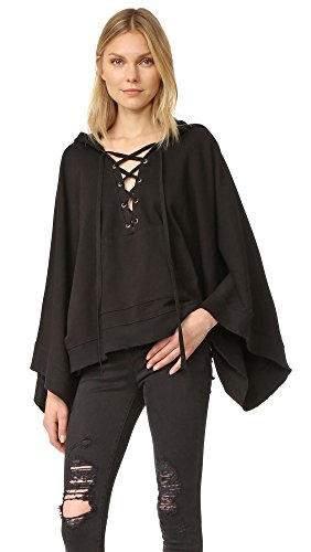 pam-gela-womens-laceup-cape-black-one-size