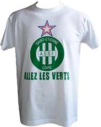 T-shirt ASSE - Collection officielle - AS SAINT ETIENNE - Football club Ligue 1 - Tee shirt adulte homme