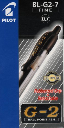 Pilot BL-G2-7 - Bolígrafo, color azul (12 unidades)
