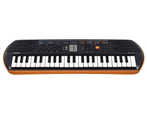 Black & Orange Casio Sa-76 Mini Keyboard Mini Keyboard 44
