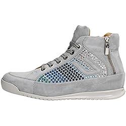 4US CESARE PACIOTTI NNGD6WCA Sneakers Donna Scamosciato Gray
