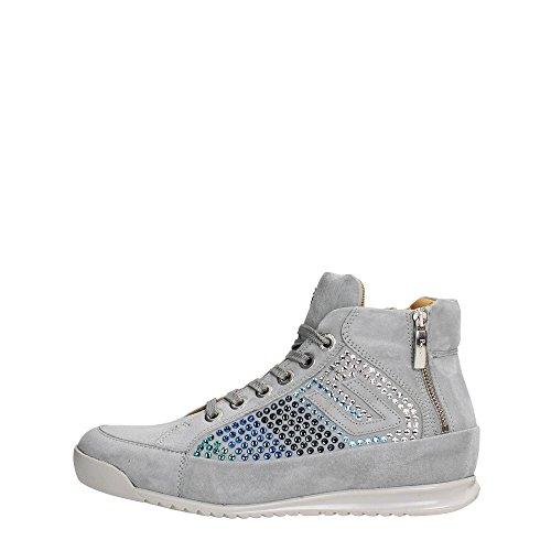 4US CESARE PACIOTTI NNGD6WCA Sneakers Donna Scamosciato Gray Gray 37