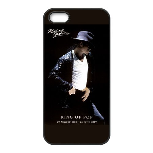 Special Sale Michael Jackson RUBBER SILICONE Case for iPhone 5, Michael Jackson RUBBER iPhone Case-AZA