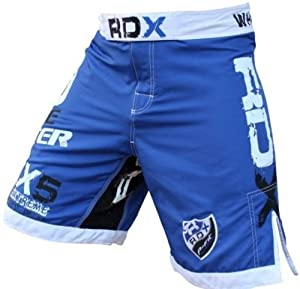 Authentic RDX Gel Flex Fight Shorts UFC MMA Cage NHB Grappling, Medium (31
