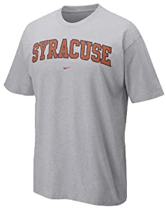 Syracuse Orangemen Grey Classic College Short Sleeve Tee Shirt By Nike Team Sports() by Nike