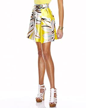 bebe.com : Pleated Silk Skirt from bebe.com