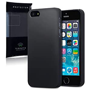 Terrapin Slim Armour Cover for iPhone 5S - Black