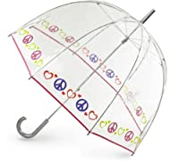 Totes Peace & Love Bubble Umbrella from Totes