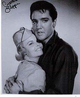 CYNTHIA PEPPER (Kissin' Cousins) 8x10 Female Celebrity Photo Signed In