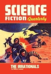 30 x 20 Stretched Canvas Poster Science Fiction Quarterly: Astronaut Battle