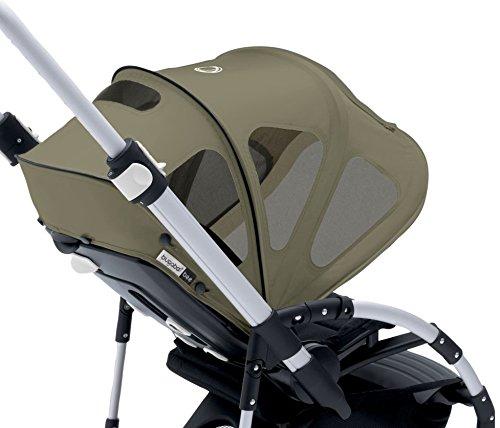 Bugaboo Bee Breezy Sun Canopy, Dark Khaki - 1