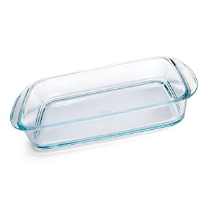 Arcuisine Elegance Glass 2.8 Quart Rectangular Baker