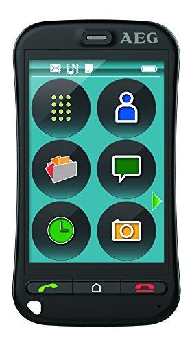 AEG Großtasten Touchscreen-Handy, Simlock frei mit 3.5