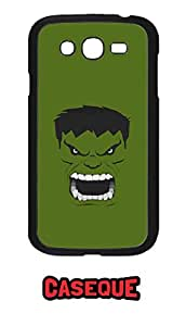 Caseque Incredible Hulk Back Shell Case Cover for Samsung Galaxy Grand Duos