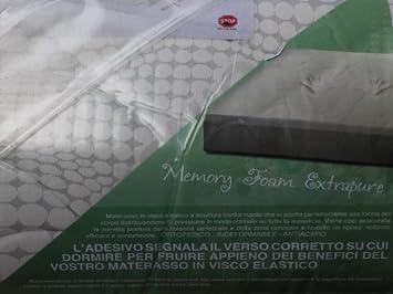 Matelas Memory Foam extrapure pour lit 1place