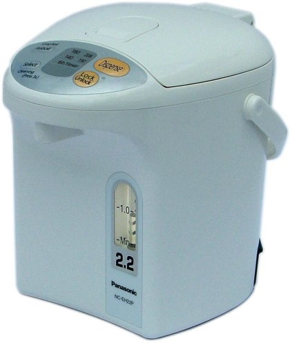 Great Features Of Panasonic NC-EH22PC 2.3 Quart Electric Thermo Hot Water Pot, White