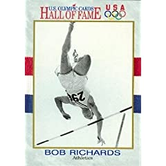 Buy Bob Richards Hall of Fame Olympic Card (Pole Vault) 1991 Impel #14 by Autograph Warehouse