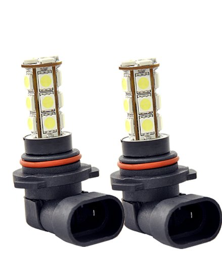 Led 9145 Or H10 18 Smd Super Xenon White Fog Light Bulbs Free Shipping U.S.