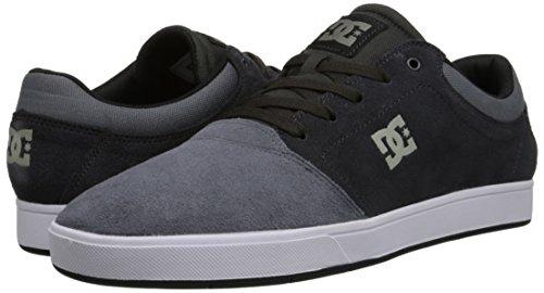 DC Men's Crisis Skate Shoe, Charcoal Grey, 13 M US