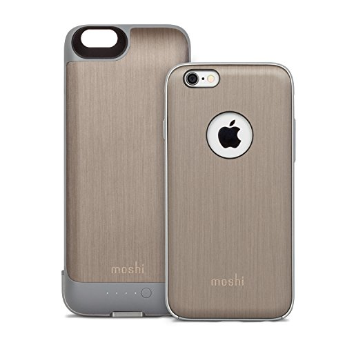 moshi-99mo079204-iglaze-ion-battery-with-removable-case-for-iphone-6-6s-brushed-titanium