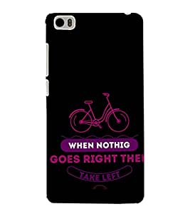 iFasho Right and Wrong Quote Back Case Cover for Redmi Mi5