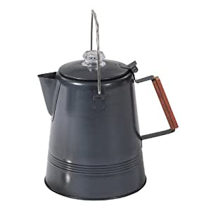 Stansport Black Granite 28 Cup Percolator Coffee Pot