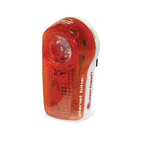 Planet Bike SuperFlash Bicycle Tail Light - Red - 3034