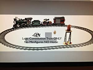 NEW LOOSE LEGO Lone Ranger Constitution Train ONLY! NO MINIFIGURES! NO HORSE! NO BOX!