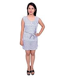 Snoby Blue White OnePiece (SBY6033)
