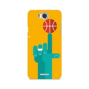 Mobicture Basketball Love Premium Printed Case For InFocus M530