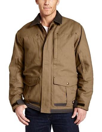 Dickies Sanded Duck Premium Work Coat, BROWN DUCK, 2XL