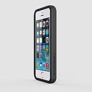 coque bumper noir rhino shield crash guard pour iphone 5 5s high tech. Black Bedroom Furniture Sets. Home Design Ideas