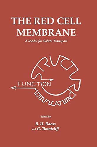 The Red Cell Membrane: A Model for Solute Transport (Contemporary Biomedicine)