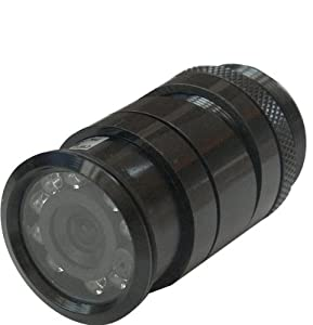 color ccd infrared flush mount keyhole rear