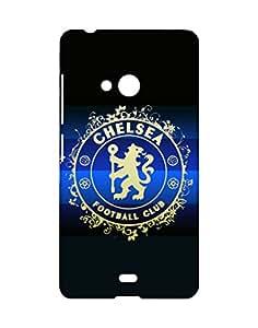 Crackndeal Back Cover for Nokia Lumia 540