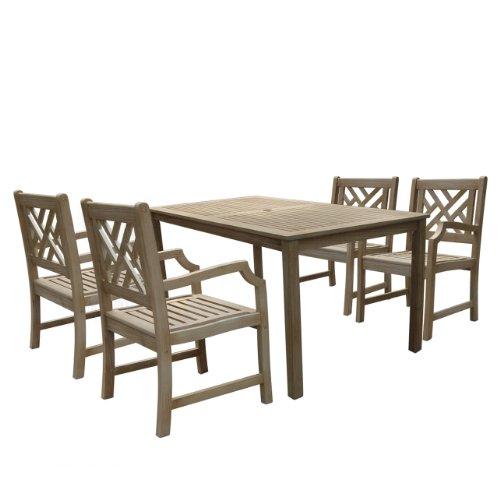Where To Buy Vifah V1297set8 Renaissance Rectangular Table