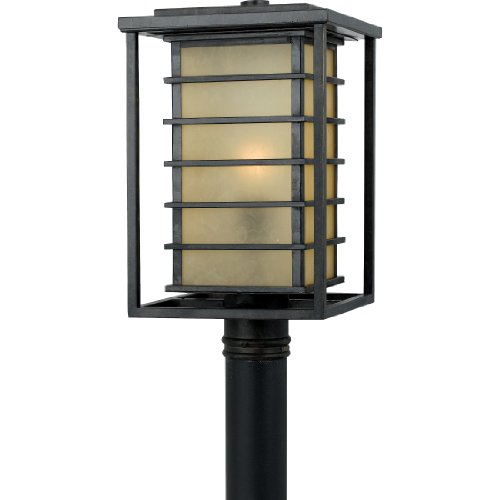 Quoizel JO9010IB Jonathan 1-Light Outdoor Post Lantern, Imperial Bronze