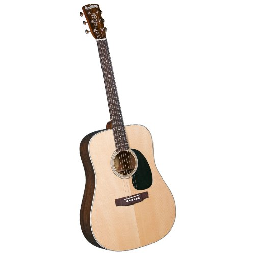 Blueridge Br-60 Contemporary Dreadnaught Guitar With Santos Rosewood Back And Sides