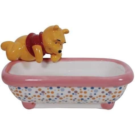 Westland Giftware Ceramic Soap Dish, Disney Winnie the Pooh