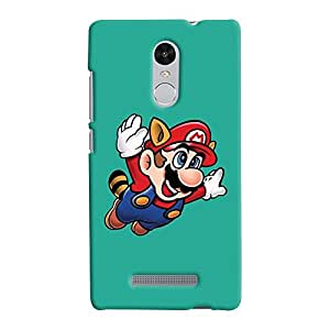 ColourCrust Xiaomi Redmi Note 3 Mobile Phone Back Cover With Super Mario - Durable Matte Finish Hard Plastic Slim Case