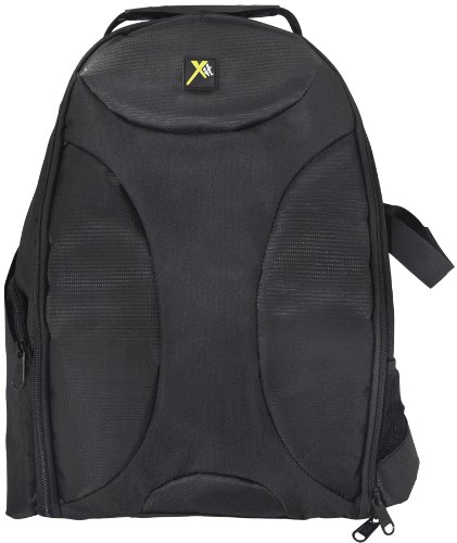 Xit-XTBP-Deluxe-Digital-CameraVideo-Padded-Backpack-Black