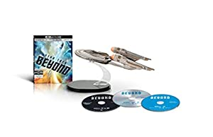 Star Trek Beyond Amazon Exclusive Gift Set (4K UHD/3D/Digital HD) [Blu-ray] by Paramount