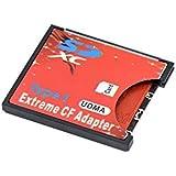 QUMOX SD SDHC SDXC Um CF Compact Flash Speicherkarte Adapter Reader Typ 1 WIFI