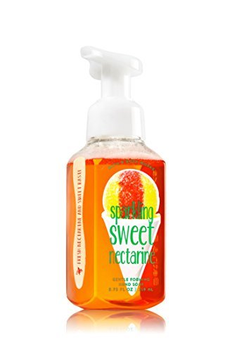 Bath & Body Works Gentle Foaming Hand Soap Sparkling Sweet Nectarine Creamy Nectarine