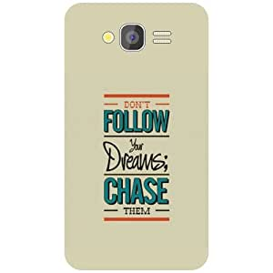 Samsung Galaxy Grand Back Cover - Follow Your Dreams Designer Cases