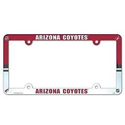 NHL Arizona Coyotes License Plate Frame (2-Pack)