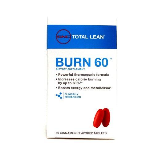 Gnc Total Lean Burn 60 (60 Cinnamon Flavored Tablets) (1 Pack)