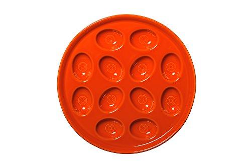 Fiesta Egg Tray, 11-Inch, Poppy