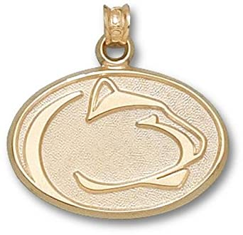 Penn State Nittany Lions Lion Head Lapel Pin - 14KT Gold Jewelry by Logo Art